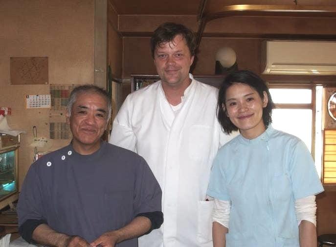 Oliver Kania beherrscht klassisches TCM aus China und Japan