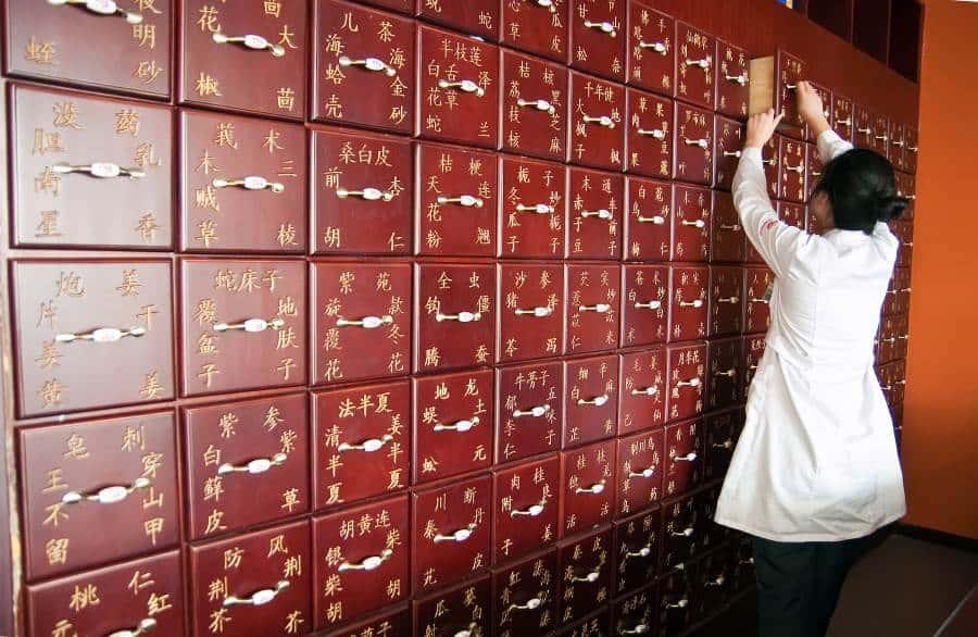 Oliver Kania sammelt Kräuter und Gewürze um Sie mit Chinesischer Medizin optimal behandeln zu können